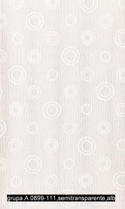 grupa A 0899-111,semitransparente,alb