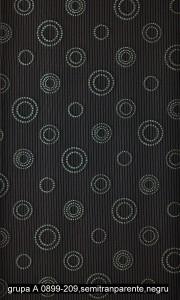 grupa A 0899-209,semitranparente,negru