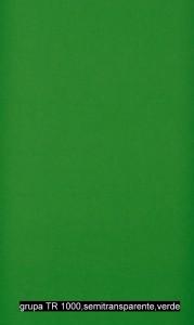 grupa TR 1000,semitransparente,verde