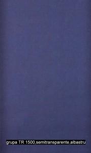 grupa TR 1500,semitransparente,albastru