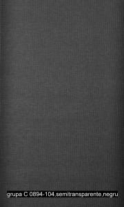 grupa C 0894-104,semitransparente,negru