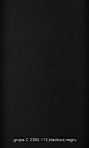 grupa C 2392-113,blackout,negru