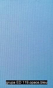 grupa ED 119,opace,bleu