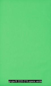 grupa B 2220-219,opace,verde