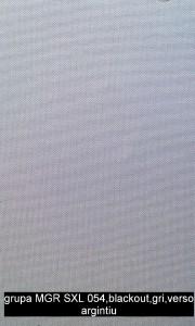 grupa MGR SXL 054,blackout,gri,verso argintiu