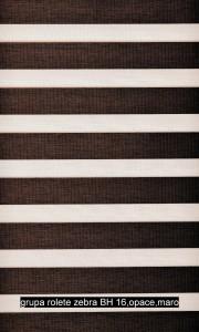 grupa rolete zebra BH 16,opace,maro